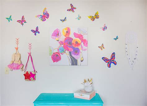 butterfly wall stickers for bedrooms butterfly wall decals best creation 3d butterfly wall