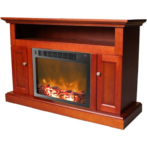 cambridge electric fireplace cambridge sorrento 47 in electric fireplace mantel with
