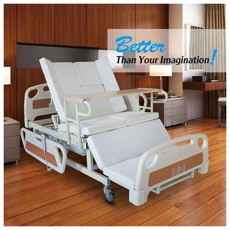 trade assurance adjustable bed backrest remote electric home care bed for bedridden