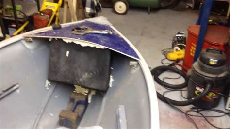 in floor boat fuel tanks my 12 foot aluminum boat installing a custom bow mounted