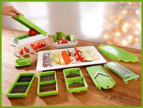 Gnius Nicer Dicer Plus Parutan Pemotong Buah Sayur Serbaguna nicer dicer genius alat pengupas buah buahan sayur sayuran 11 macam pisau pemotong page 4