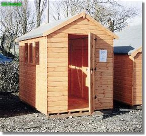 4x4 Shed by Wentworth Apex Roof