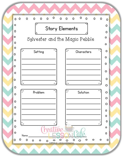 worksheet sylvester and the magic pebble worksheets