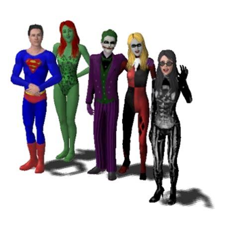 dc comics superhero and supervillain family by artdude