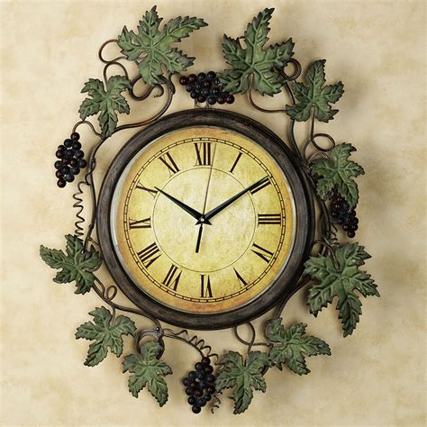beautiful wall clock 24 beautiful kitchen wall clocks mostbeautifulthings