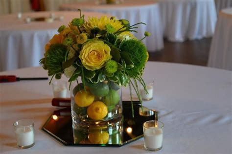 25  best ideas about Lime centerpiece on Pinterest