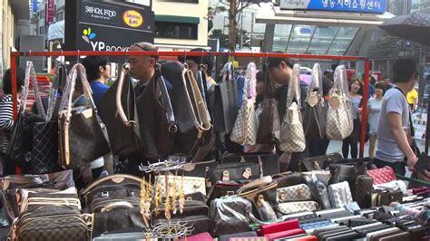 myeong dong market seoul south korea youtube