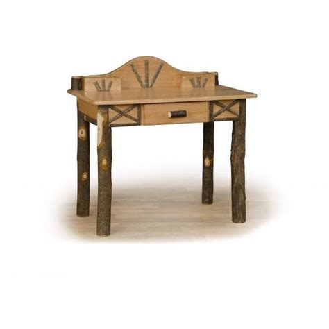 Hickory Desk by Hickory Writing Desk Amish Crafted Furniture