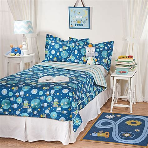 Lolli Living By Living Textiles Baby Twin Bedding Robot Crib Bedding