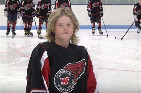 kids hockey hair aaa hockey hair