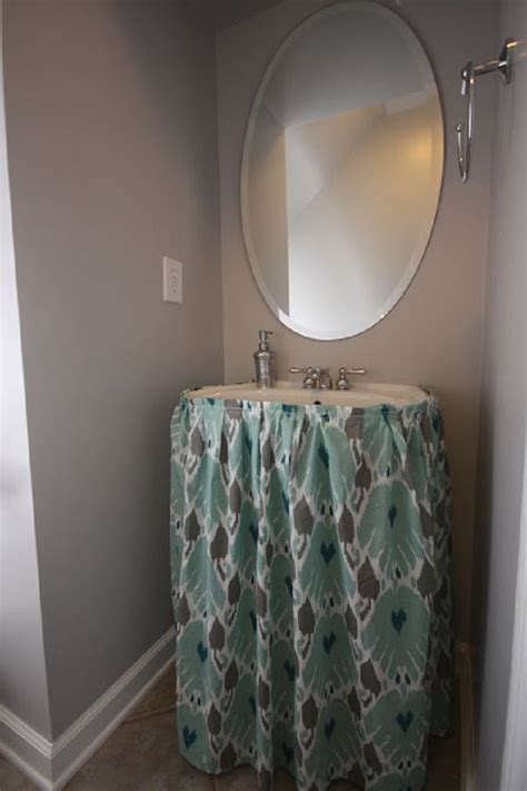 Top 10 Easy Diy Sink Skirts Bathroom Sink Skirt