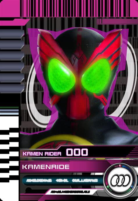 kamen rider decade card template kamen ride ooo by mastvid on deviantart