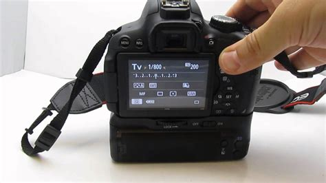 Grip Kamera Canon 600d aputure bp e8 vertical battery grip for canon 550d 600d 650d
