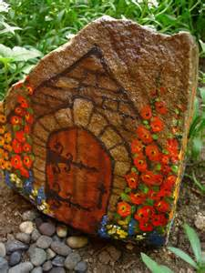 Painting Rocks For Garden Commoners Quarters Painted Rock