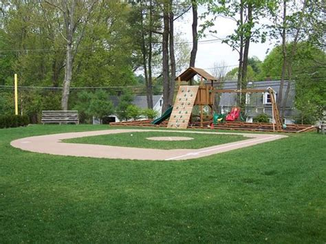backyard baseball stadiums backyard baseball field diy would love to do this to my