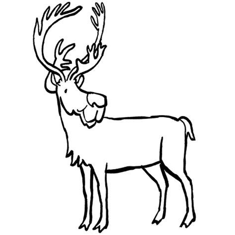 dibujos navideños para colorear renos colorea tus dibujos reno para colorear
