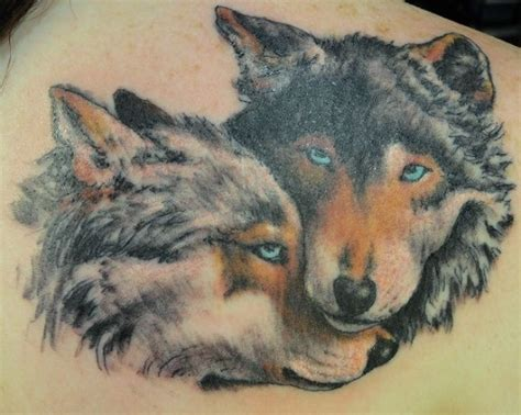couple tattoo wolf 76 meaningful wolf tattoo designs ideas for back