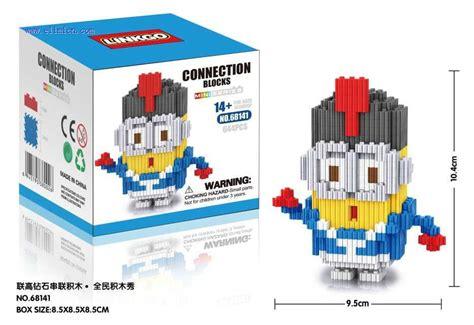 Bricks Linkgo 9616 linkgo connection blocks minions 68141