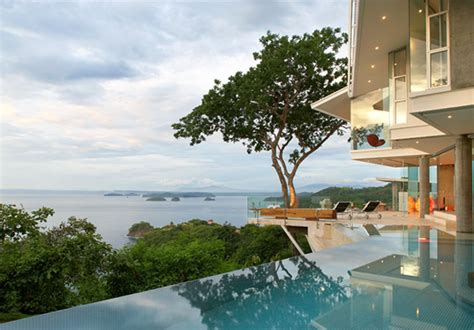 house with a beautiful view cliff side house in costa rica embraces natural wonder