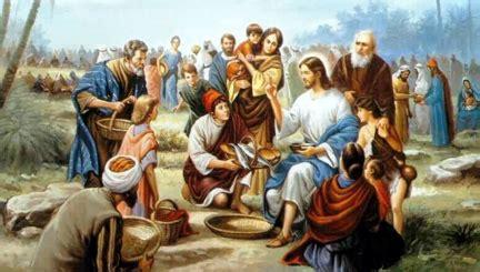 jesus feeds  crowd malaysias christian news website