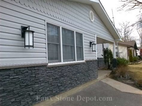 faux stone house siding faux stone siding traditional exterior providence by faux stone depot