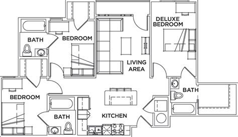 floor plans cus edge on uta boulevard student