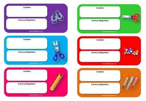 descargar imagenes escolares gratis diferentes modelos de etiquetas escolares para descargar