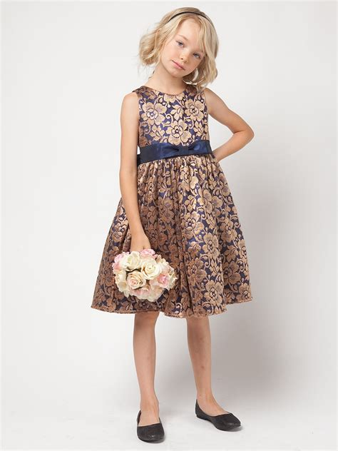 Dress And Fell Navy Floral Lace navy gold floral lace dress