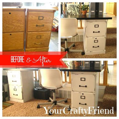 File Cabinet Desk Diy Pin By Bradshaw On Home Diy Pinterest