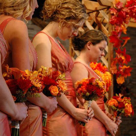 fall colors for a wedding autumn or fall wedding theme st simons island wedding
