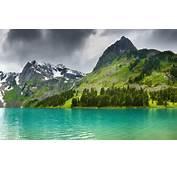 Altai Mountains Lake Beautiful Landscape Wallpaper Download