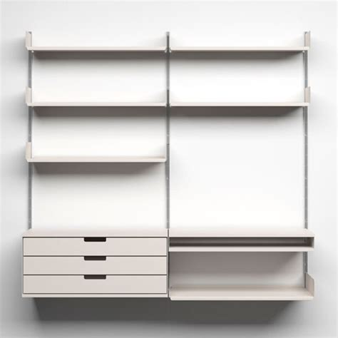 Home Shelving Systems 606 Universal Shelving System From Vitsoe Wall Hung