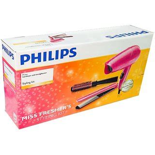 Philips Hair Dryer Straightener Curler buy philips hp 8647 3 in 1 pack hair straightener hair