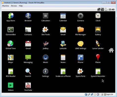 android virtualbox image getting started on android for x86 step by step guide on setting up android 2 2 2 3 for x86