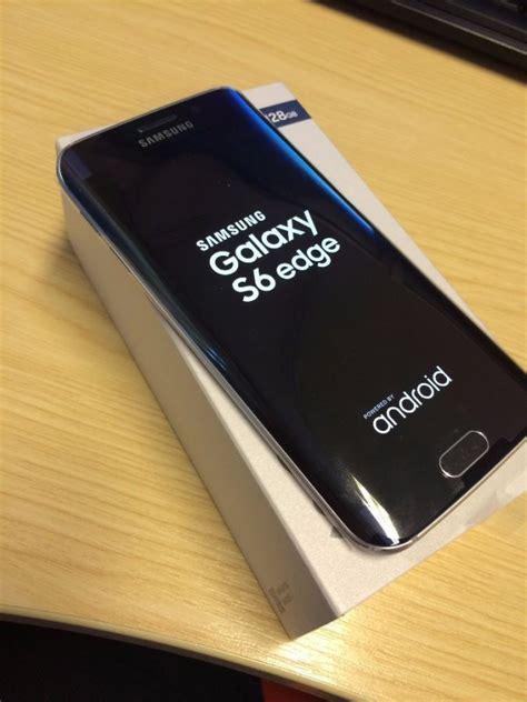 samsung galaxy s6 edge black sapphire 128gb in box offer