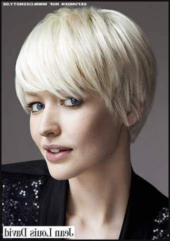 coole frisuren kurz pixie feines haar frisuren