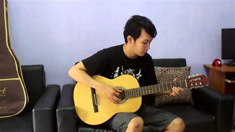 tutorial fingerstyle sakit nya tuh disini evanescence imaginary nathan fingerstyle cover youtube