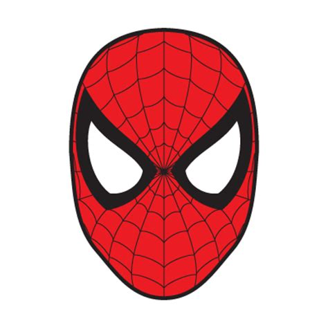 spiderman mask vector download spiderman mask vector