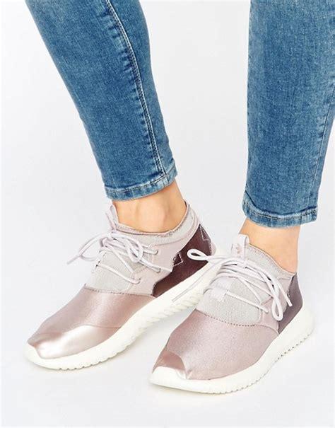 adidas adidas originals dusky pink tubular trainers