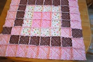 baby rag quilt tutorial