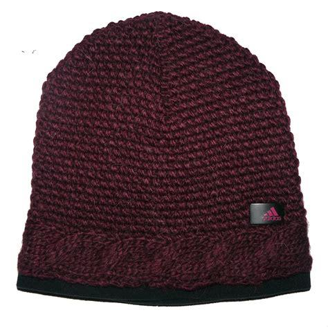 adidas performance womens wool crochet beanie warm winter