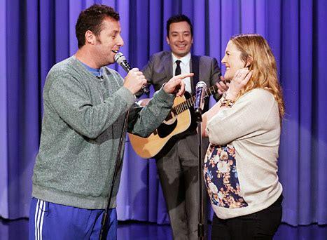 Wedding Song Drew Lyrics by Adam Sandler Drew Barrymore Sing About Their On