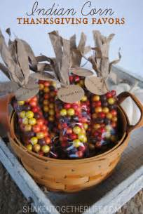 Thanksgiving Favors For by Indian Corn Thanksgiving Favors