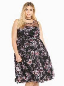 Torrid Special Occasion Floral Print Dress Plus Size Clothing