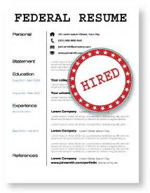 how to make a federal resume format 2015 2016