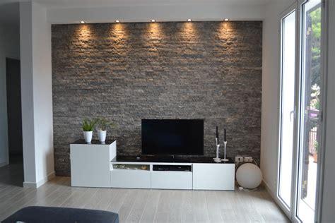 pareti soggiorno in pietra pavimenti in finta pietra per interni