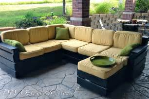 small patio sectional diy outdoor sectional build it yourself out of regular