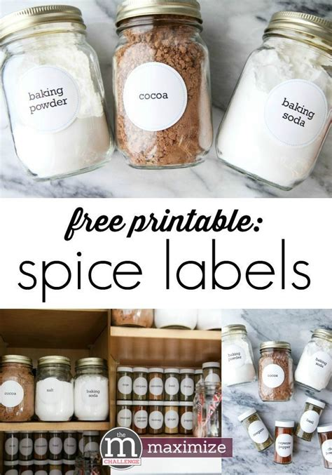 Spice Rack Labels by Organize Your Spice Rack Free Printables Free