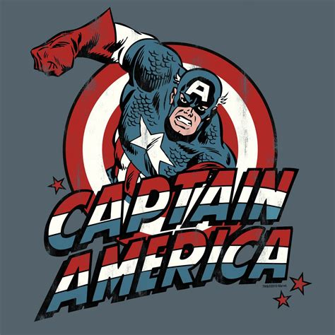 Captain America Marvel America 1 t shirt captain america marvel marvel captain america