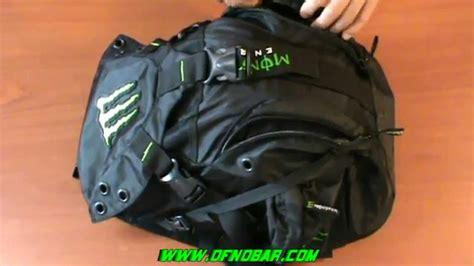 NEW Monster Energy Motorcycle Backpack Helmet Bag Review